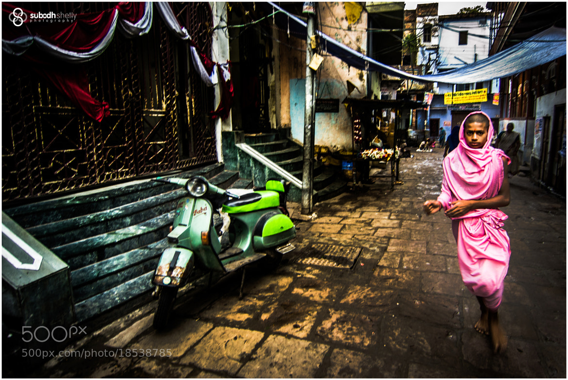 Photograph 'Monk in Pink' by Subodh Shetty on 500px
