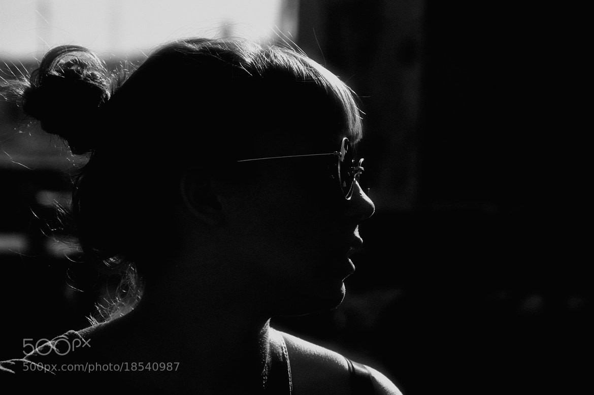 Photograph silhouette of light by Diana Martins on 500px