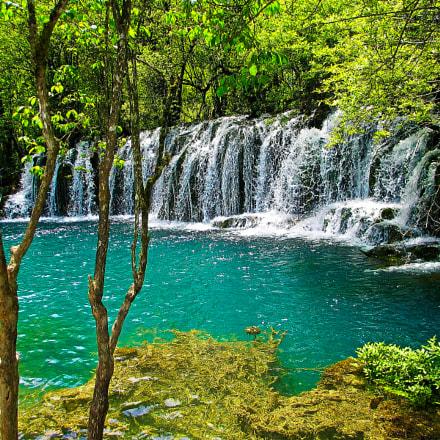 Huanglong national park.