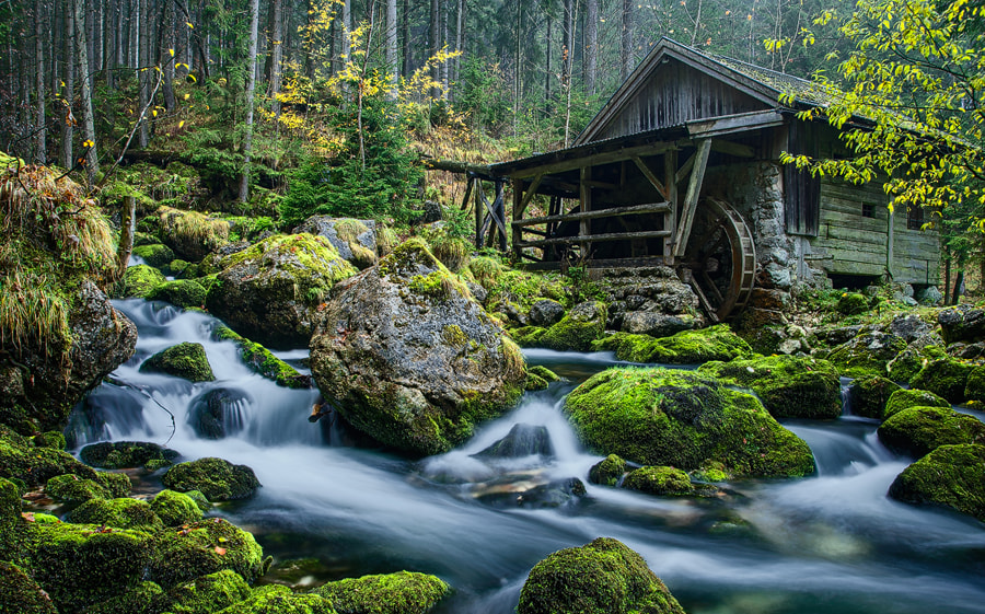 Photograph The mill by Simon Bauer on 500px