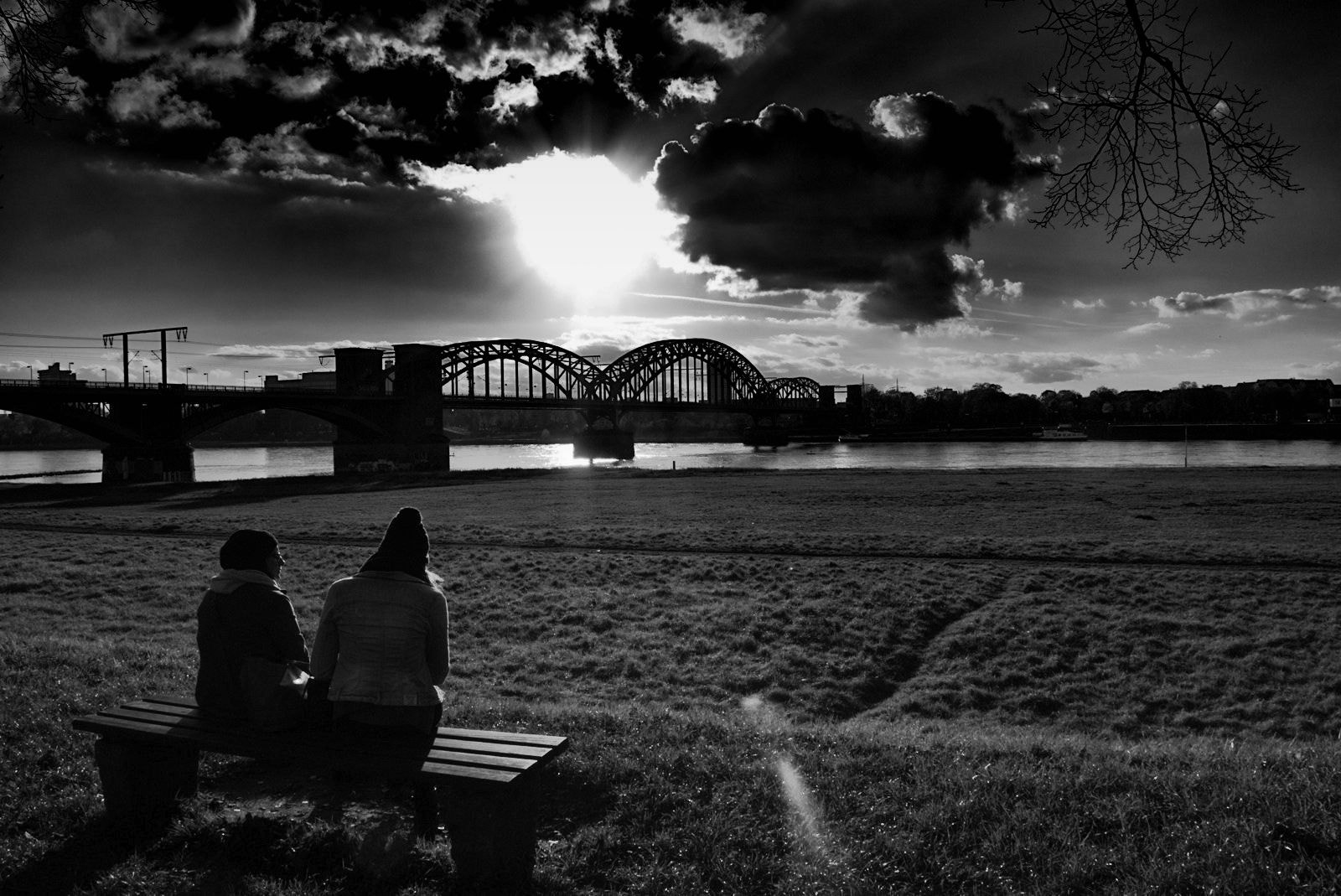 Photograph Two on the Rhine river by Georgie Pauwels on 500px