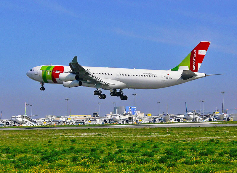 Photograph TAP AIR PORTUGAL A 340 by Jose Heitor on 500px