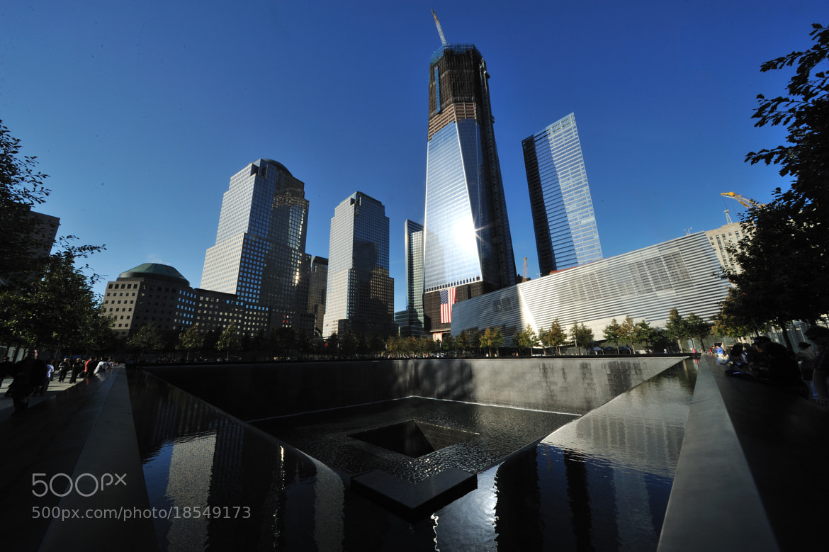 Photograph 9/11 MEMORIAL by Michael FRANCHITTI on 500px