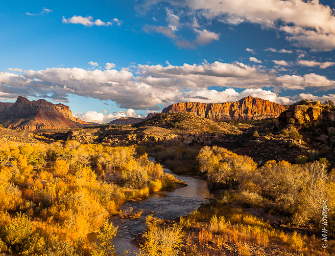 Photograph Virgin River by Michael Flaherty on 500px