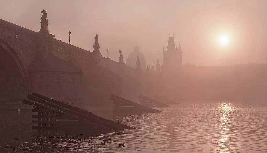 Photograph Morning in Charles bridge by Ondřej Jirků on 500px
