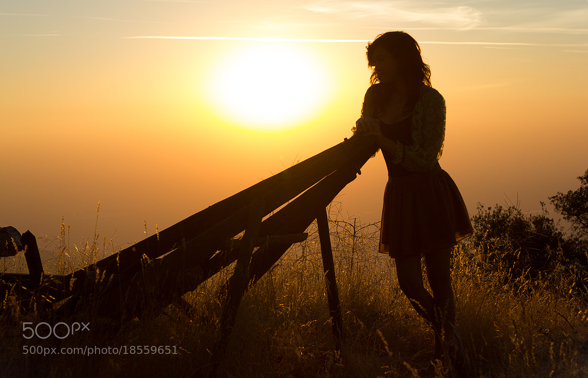 Photograph Hannah at sunset by Kevin Weinert on 500px