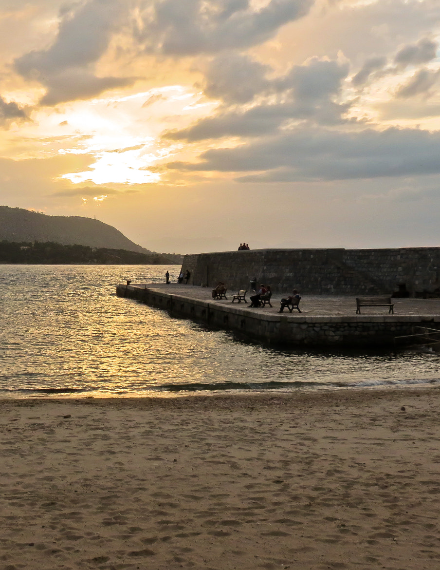 Photograph Tramonto al Molo / Sunset at the Dock by Andrea Merenda on 500px