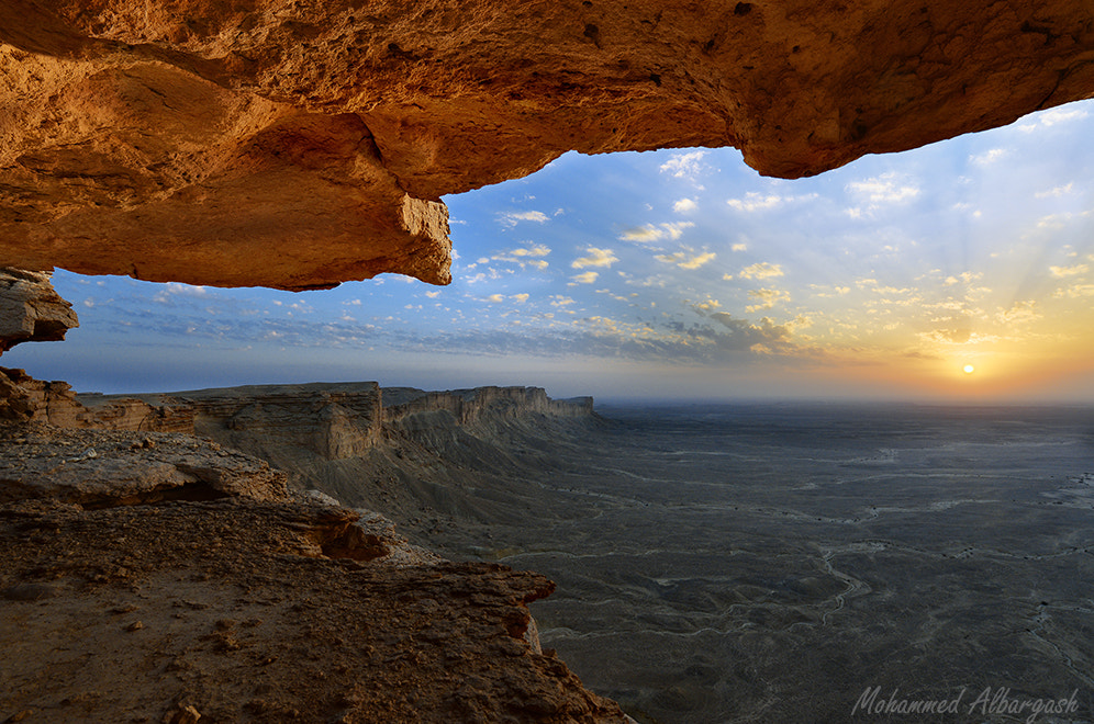 Photograph the edge of the world riyadh by mohammed albargash on 500px