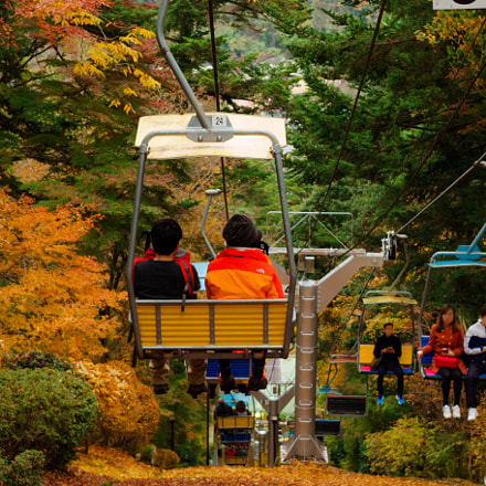 Autumn chair lift