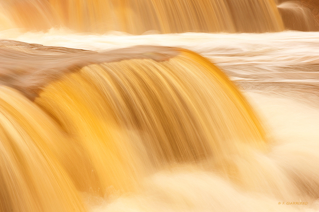 Photograph Gilded waterfall by Fabio Giarrizzo on 500px