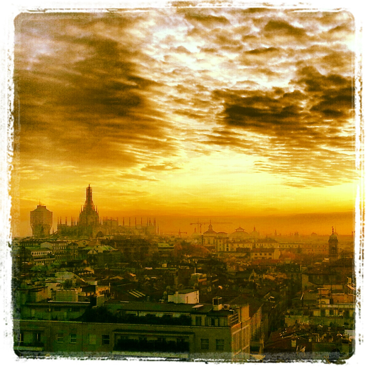 Photograph Milan form my cellphone by Omar Bariffi on 500px
