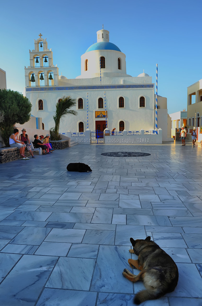 Photograph Church of Panagia of Platsani by Nathalie Stravers on 500px