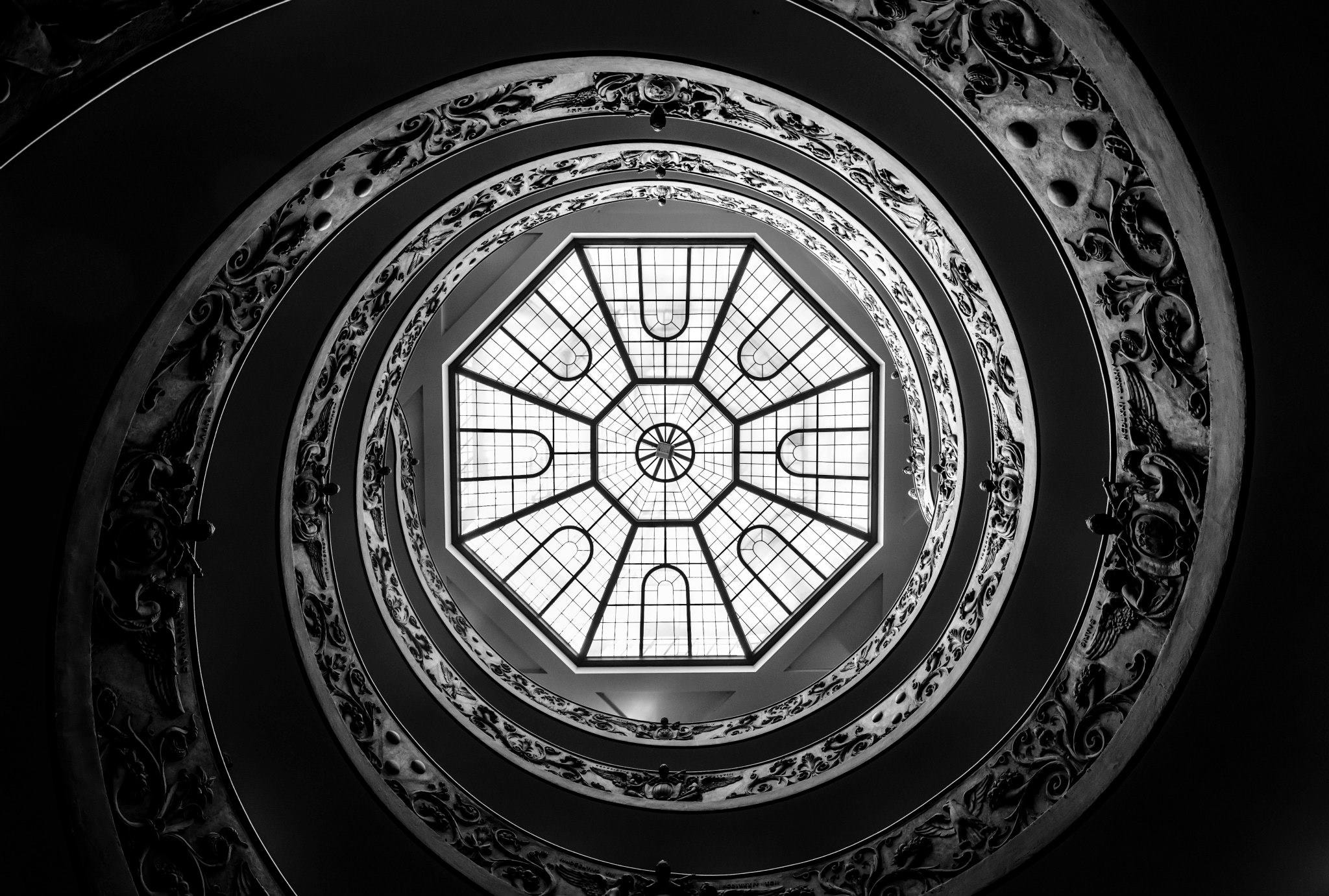 Photograph the Vatican Staircase by Austin Rhee on 500px