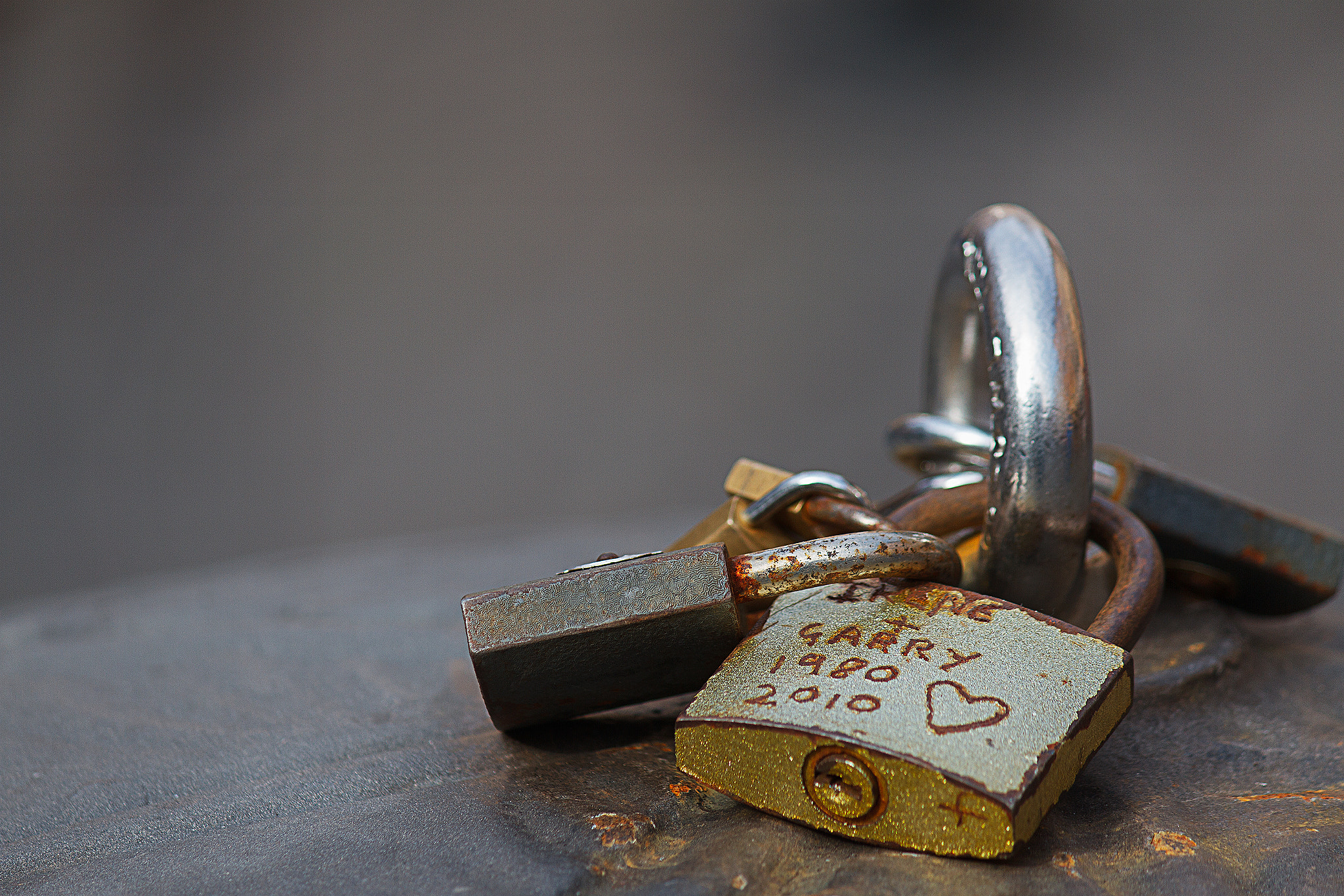 Photograph Locks of Love by Domenico Vaccaro on 500px