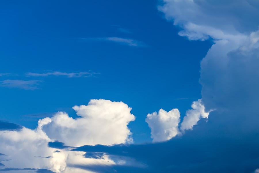 clouds in the blue sky, автор — Nick Patrin на 500px.com
