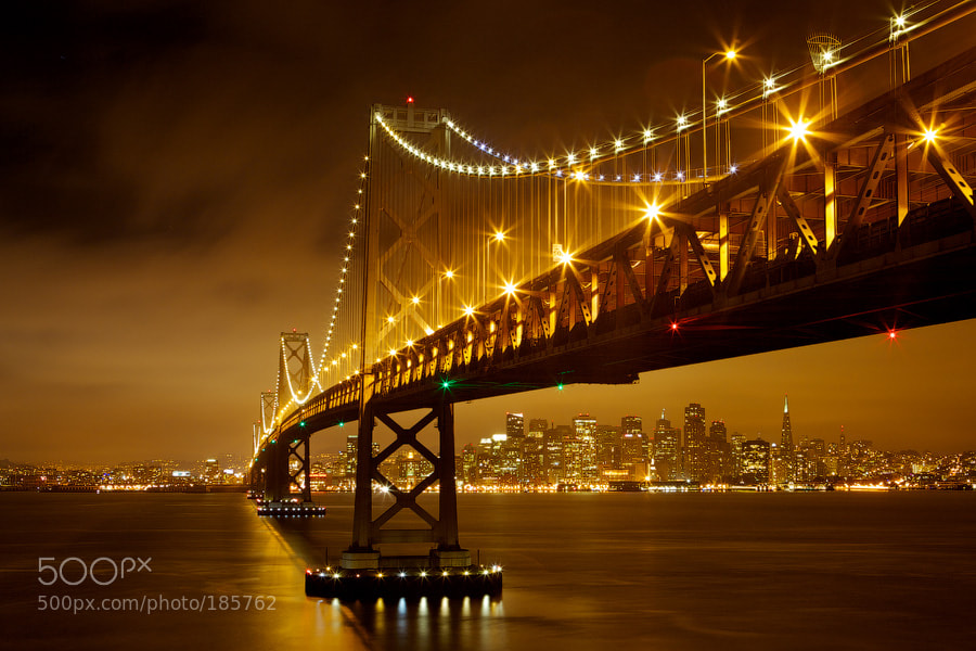 Photograph Bay Bridge by Evgeny Vasenev on 500px
