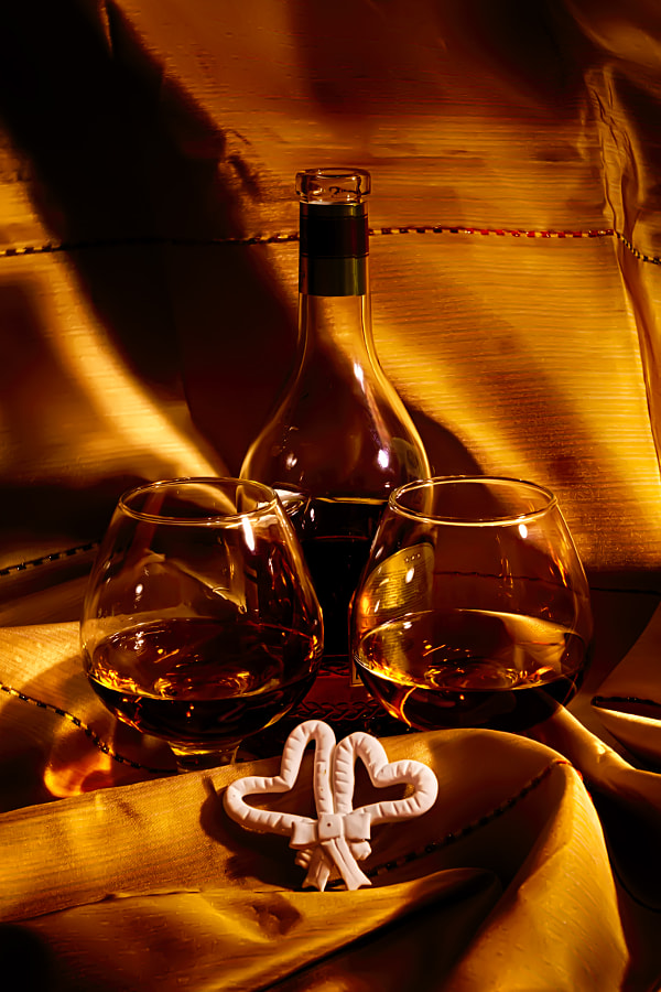 Still life with cognac