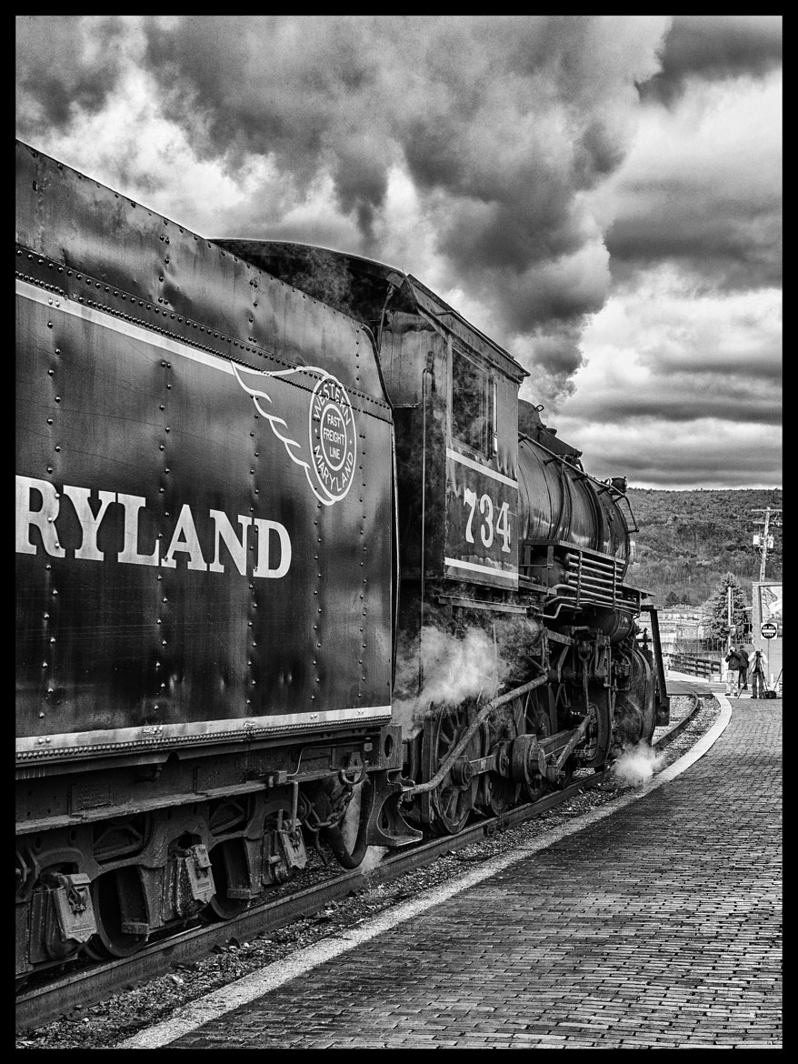 Photograph Steam Engine by Greg Bosque on 500px