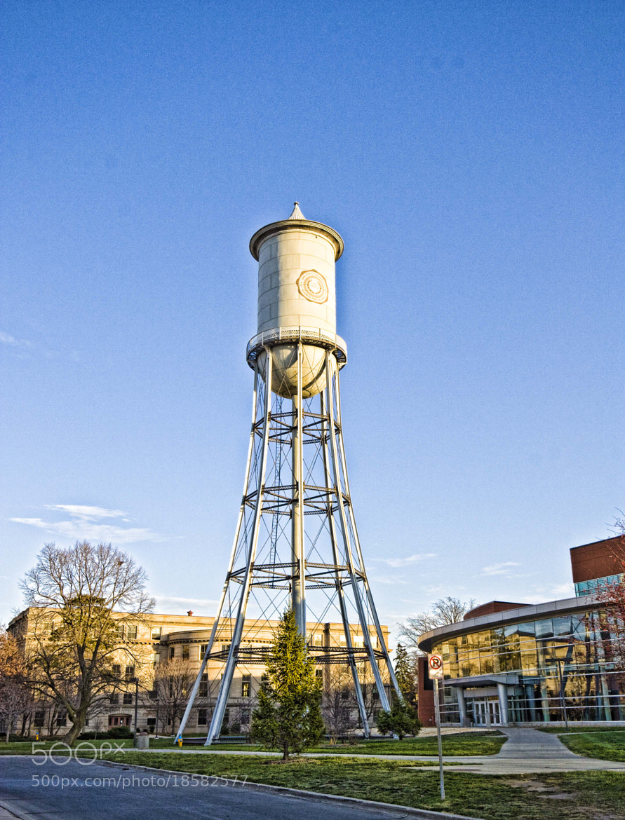 Photograph ISU Water Tower by Robert Wood on 500px