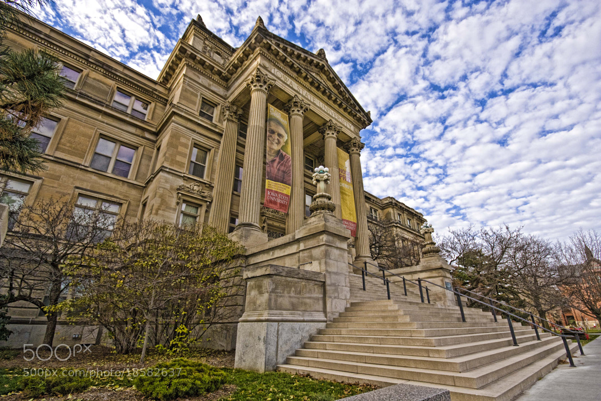 Photograph Beardshear Hall ISU by Robert Wood on 500px