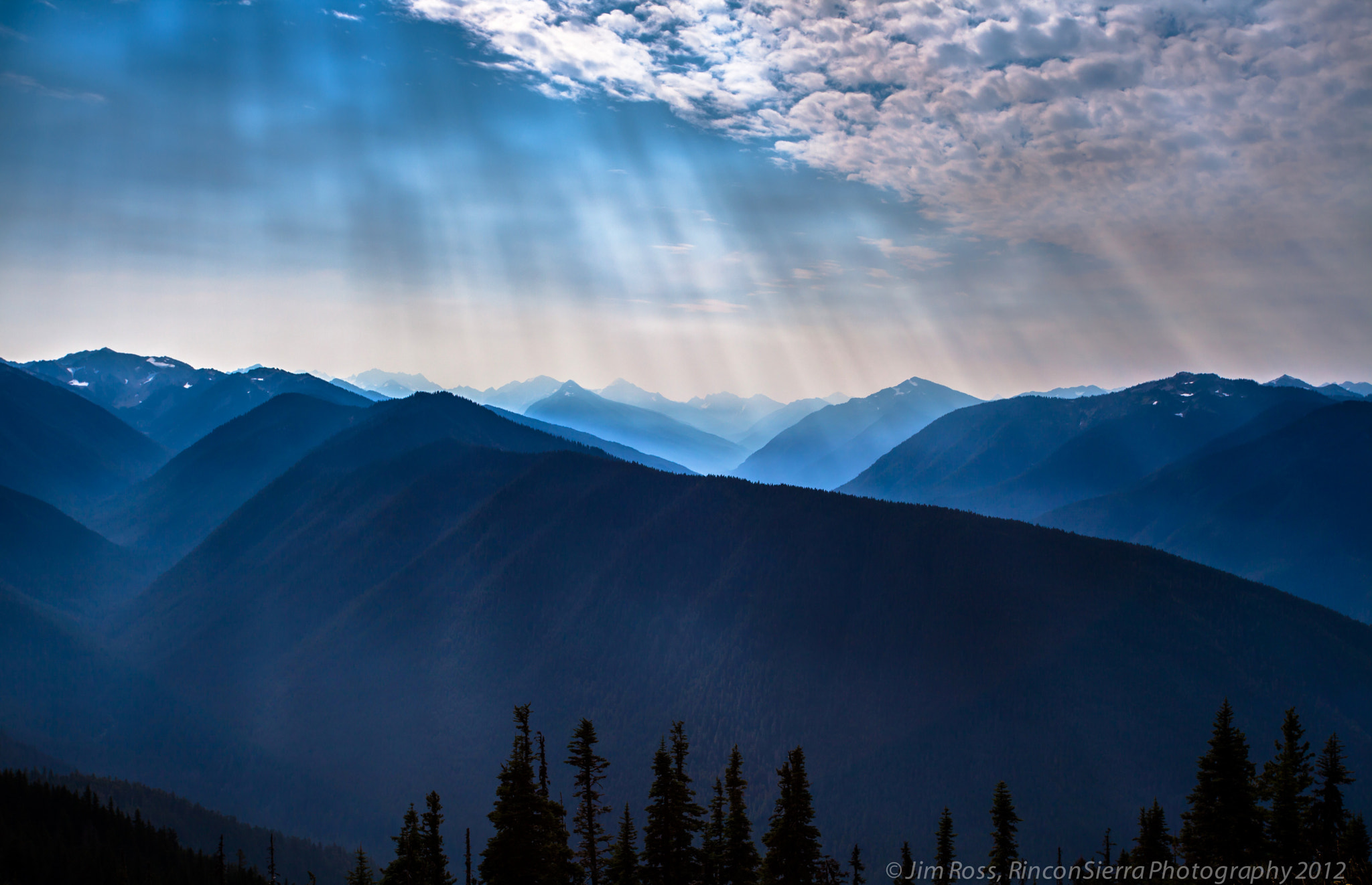 Photograph Layers & Rays Up On Hurricane Ridge!!! (part I) by Jim Ross on 500px