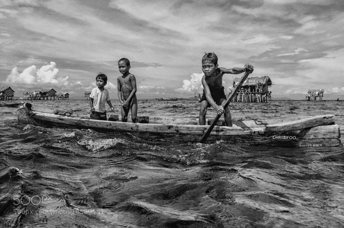 Photograph Sea Bajau Boys by Christina Foo on 500px