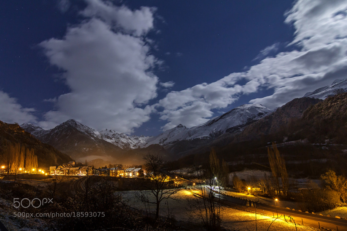 Photograph Panticosa at midnight! by Tony Goran on 500px