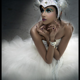 Janet Amrit - White Avant Garde by Alex Lim (alohapimodi)) on 500px.com
