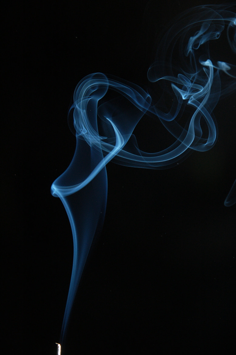 Photograph incense smoke by Karl Rothery on 500px