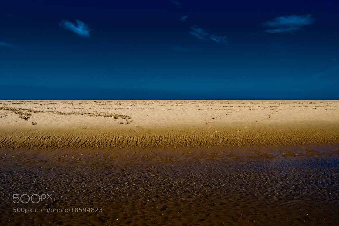 Photograph the sky, the sea and the sand by Marc Melander on 500px