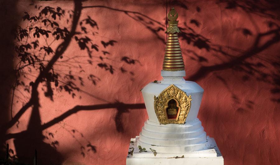 Model Tibetan Stupa