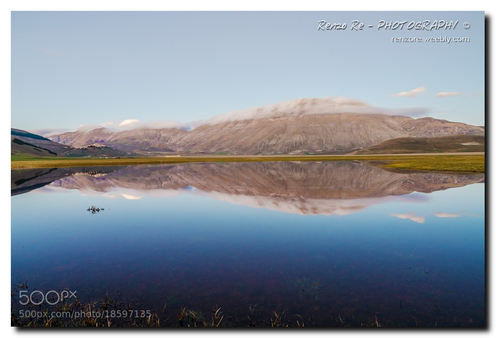Photograph © Mirroring in Castelluccio Plan by Renzo Re on 500px