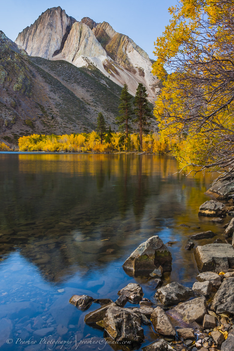 Photograph Sunrise over Convict Lake by Arif Abdullah on 500px