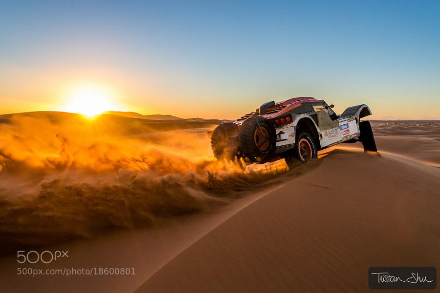 desert racing -- DSLR camera photography
