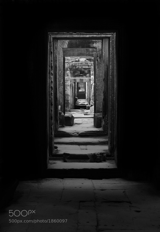 Photograph Angkor stillness by Blake El Explorador on 500px
