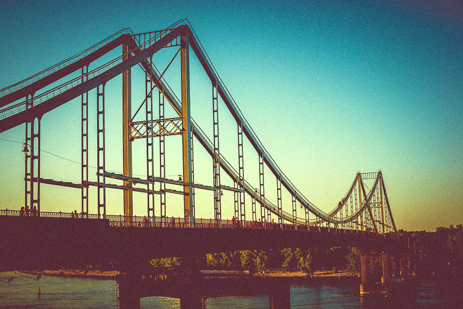 Photograph Sunset Bridge by S. S. on 500px
