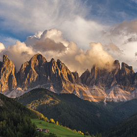Val di Funes sunset by Hans Kruse (hanskrusephotography)) on 500px.com