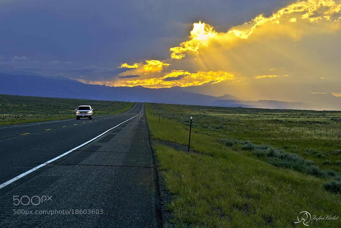 Photograph The Road to Sunset by Paari Dominic on 500px