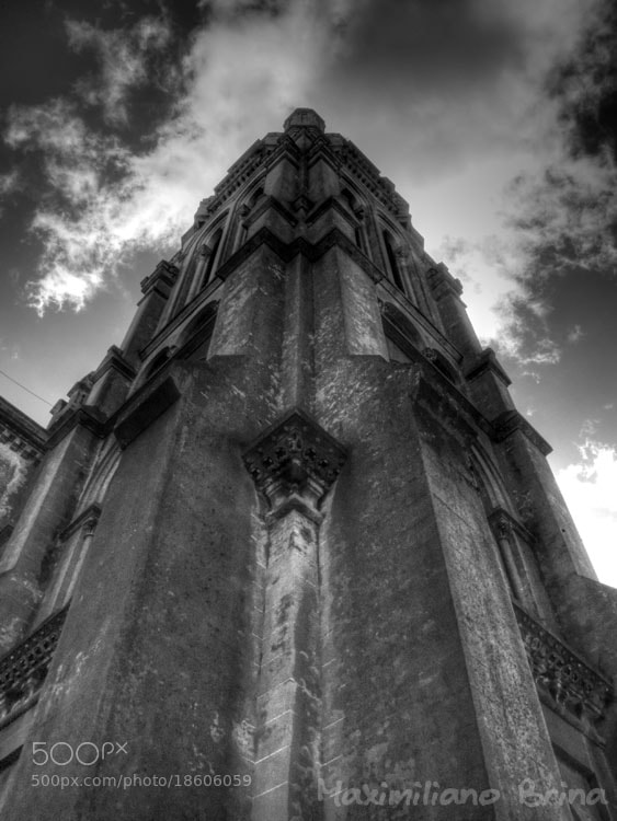 Photograph Church tower by Maximiliano Brina on 500px