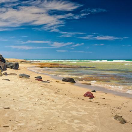 Quiet Beach In Queensland