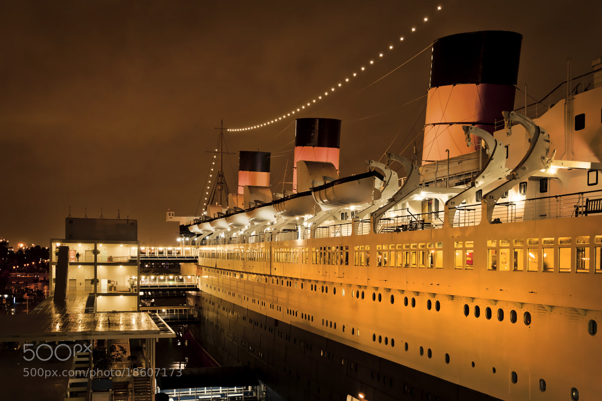Photograph The Queen Mary, Long Beach by Chris Spracklen on 500px