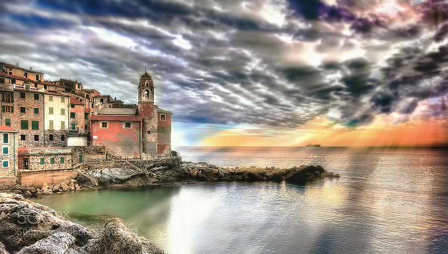Photograph Tellaro (SP) by Roberto Becucci on 500px
