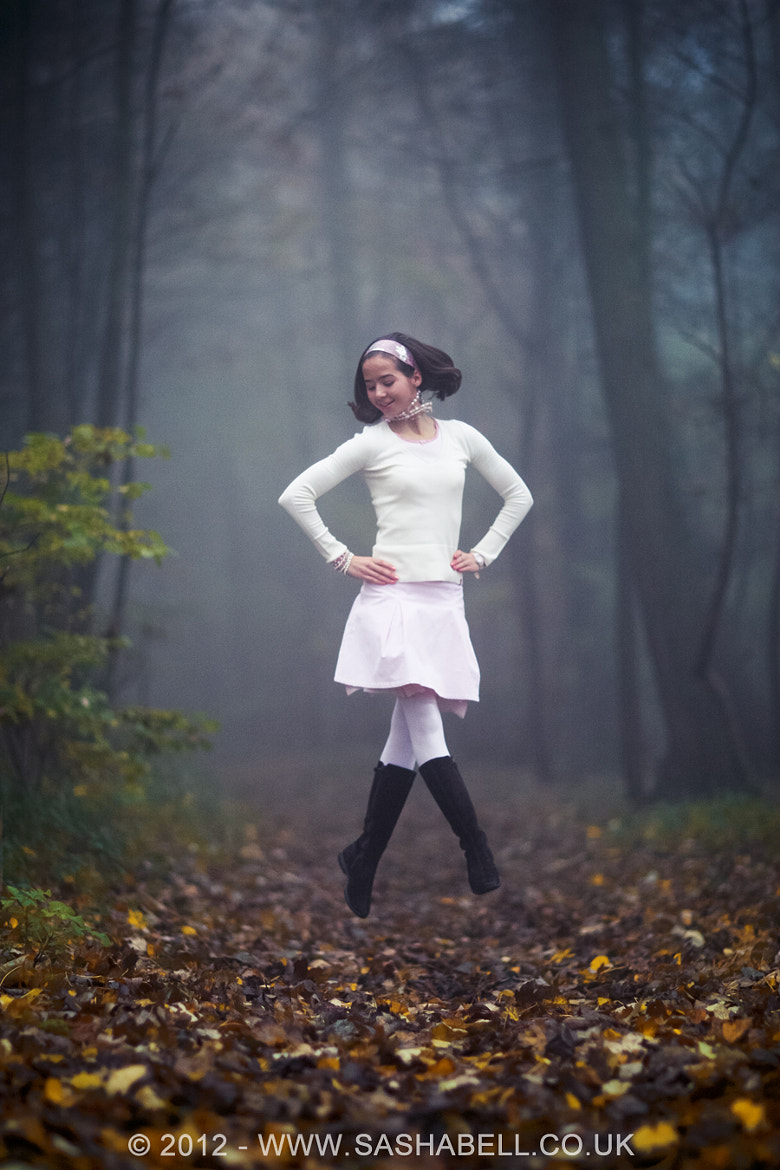 Photograph Jumping in The Fog by Sasha L'Estrange-Bell on 500px