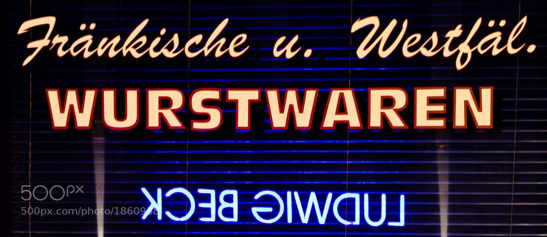 Photograph Wurstwaren by Jan Weiss on 500px