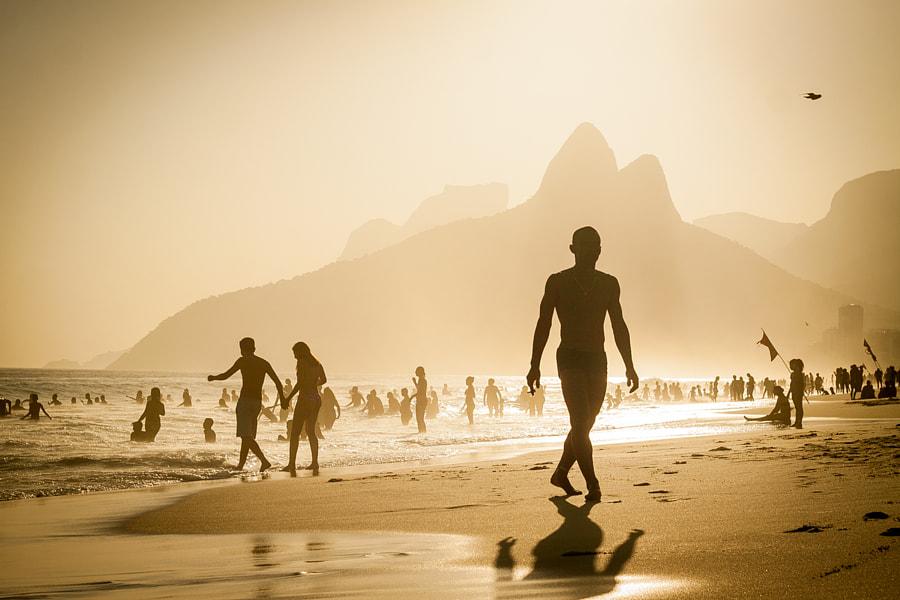 Ipanema beach, Rio de Janeiro, Brazil.