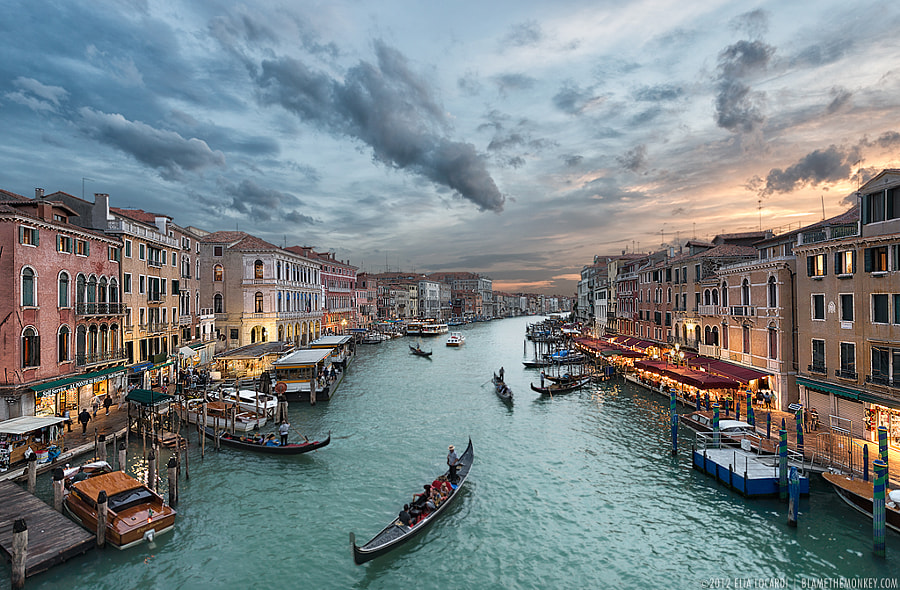 Photograph Beyond The Rialto by Elia Locardi on 500px