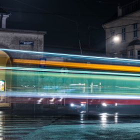 Photograph tramStreaks by Lukas Bachschwell