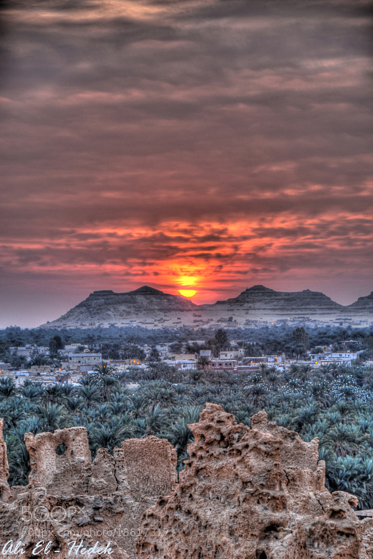 Photograph Sunrise in Siwa by Ali El Hedek on 500px