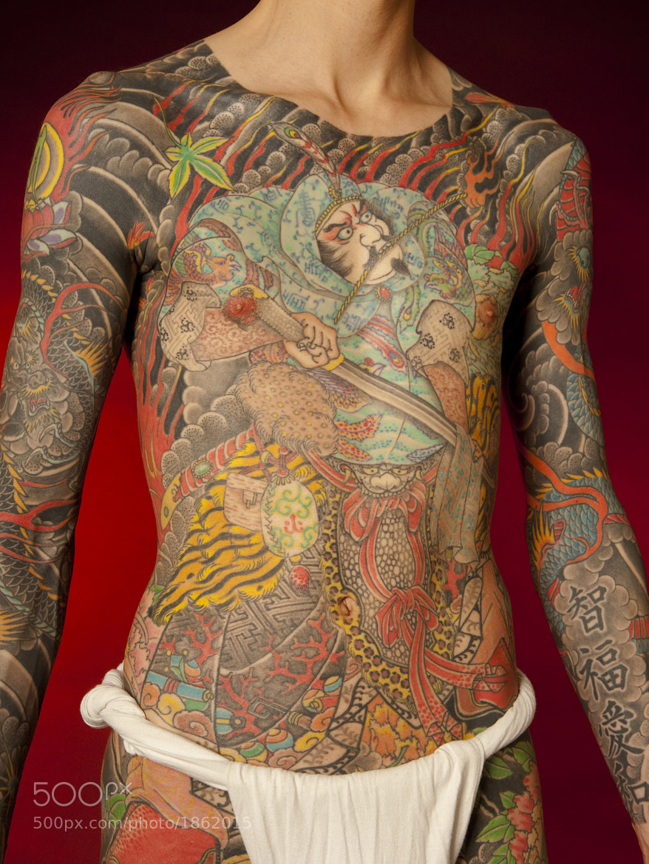 Photograph Horiyoshi III torso work by Markus Cuff on 500px