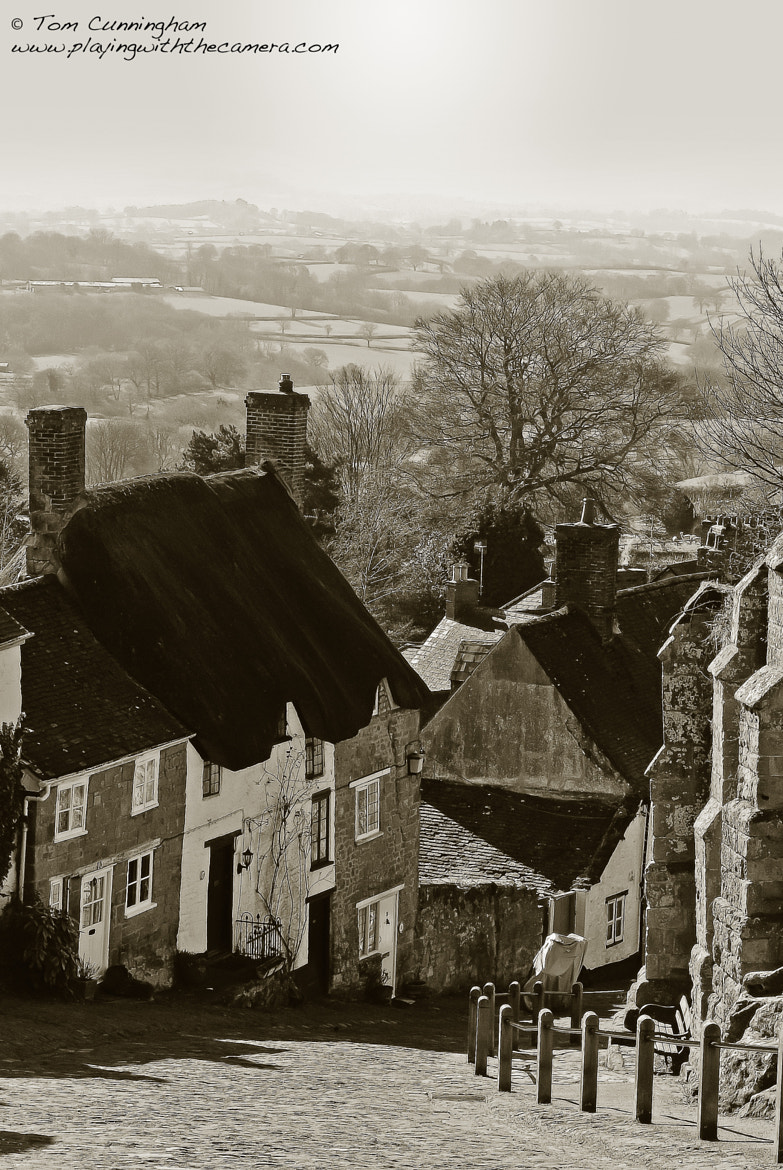 Photograph Landscape: Gold Hill Shaftesbury by Tom Cunningham on 500px